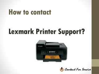 Lexmark printer customer service phone number