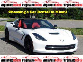 Choosing a Car Rental in Miami