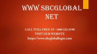 www sbcglobal net Help Call Toll Free At 1800-322-2590