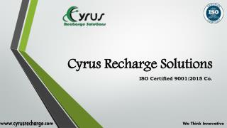Cyrus Recharge - Mobile Recharge Software Development