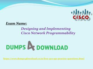 Get 300-550 Cisco Exam Free Study material | Dumps4download.co.in