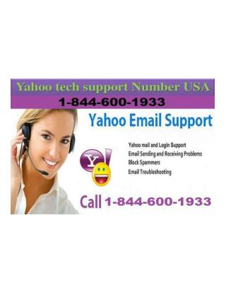 Yahoo Customer Support Number 1-(844)-(600)-(1933)