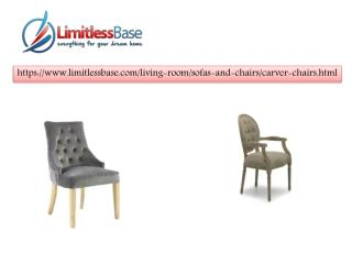 Reasonable carver chairs at Limitless Base