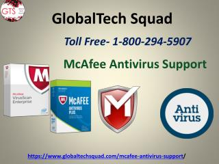 McAfee Tech Support | Toll-Free 1-800-294-5907