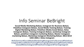 0812 8214 5265 (WA) | pelatihan instagram marketing