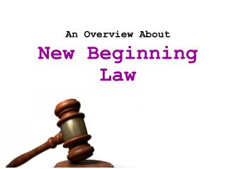 New Beginning Law