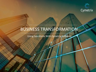 Cymetrix Software - Salesforce Consulting Company in USA & India