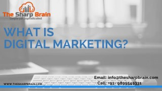 What is Meant By Digital Marketing?