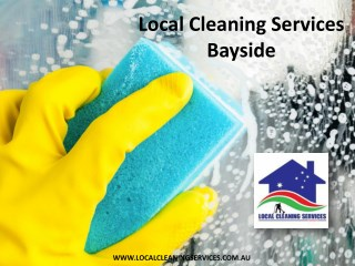 Local Cleaning Services Bayside