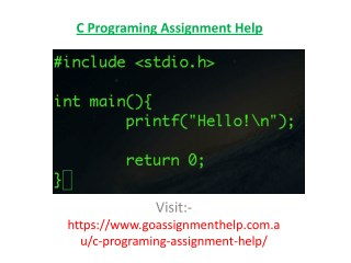 C Programming Assignment Help|Help with C Programming Assignment