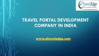 Online travel booking software service in India