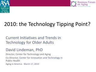 2010: the Technology Tipping Point