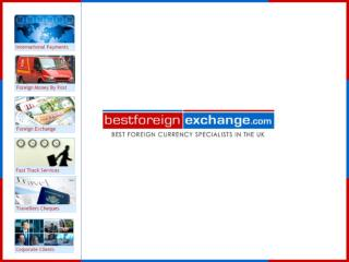 Best Foreign Exchange - International Wire Money Transfer
