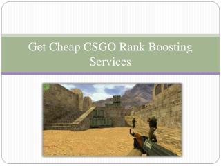 Cheap CSGO Rank Boosting Services