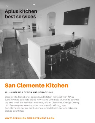 San Clemente Kitchen Remodel kitchen cabinets