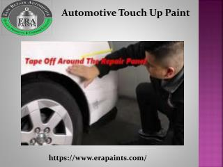 Automotive Touch Up