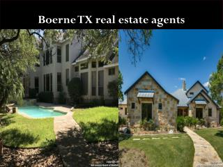 Boerne TX real estate agents