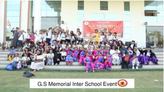 G.S Memorial Inter School Event