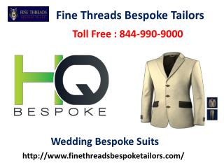 Best Wedding Bespoke Suits by Tailors in New York