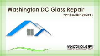 Commercial Glass repair service at Washington DC | Call @ 202-621-0304