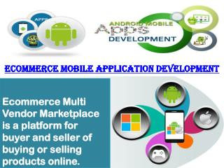 Best ecommerce mobile application development