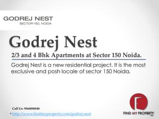 Godrej Nest Sector 150