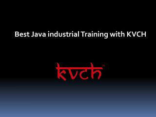 Best training center for java training