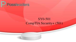 CompTIA Security  SY0-501 - SY0-501 Braindumps - SY0-501 Passleaders