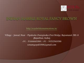 Indian Marble Royal Fancy Brown