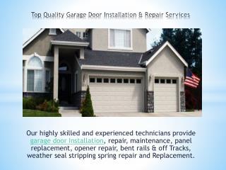 Rio Garage Door Repair| Top Quality Garage Door Installation & Repair Services