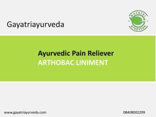 Ayurvedic Pain Reliever