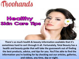 Healthy Beauty and Skin Care