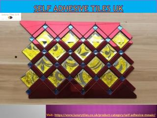 Self Adhesive Tiles UK