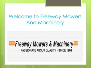 Find mowers hoppers crossing for unique products