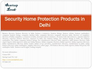 Security Home Protection Products in Delhi