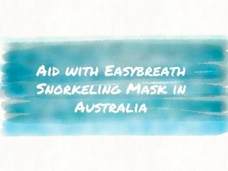 Pick from the best kids Easybreath snorkel set in Australia