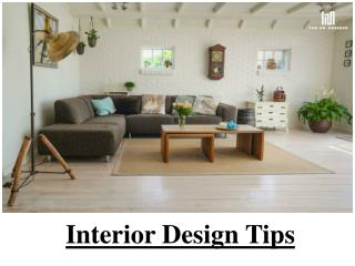 Tips For Interior Design In Kuwait