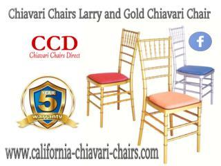 Chiavari Chairs Larry and Gold Chiavari Chair