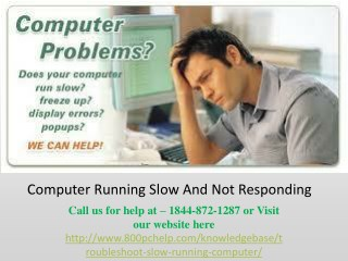 How to Troubleshoot a Slow Running Computer