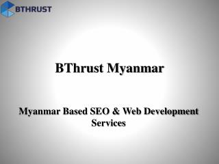 Find Best SEO Service Provider Company in Myanmar