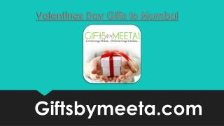 Send Online Valentines Day Gifts to Mumbai