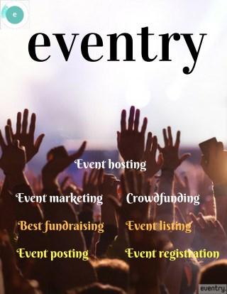 Eventry multipurpose event registration & marketing website.
