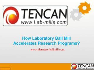 How Laboratory Ball Mill Accelerates Research Programs