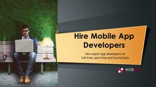 Hire Mobile Apps Developer & Programmers in India & USA