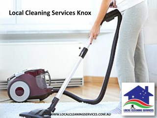 Local Cleaning Services Knox