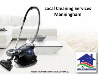 Local Cleaning Services Manningham