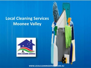 Local Cleaning Services Moonee Valley