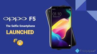 OPPO F5 - AI Selfie Camera Smartphone Launched in UAE