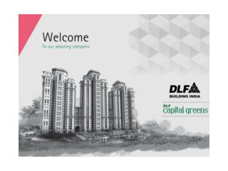 DLF Capital Greens Moti Nagar New Delhi
