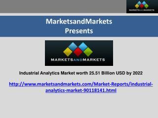Industrial analytics Market